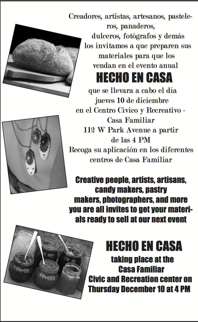 Hecho En Casa – Event