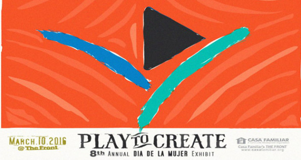 PLAY TO CREATE banner