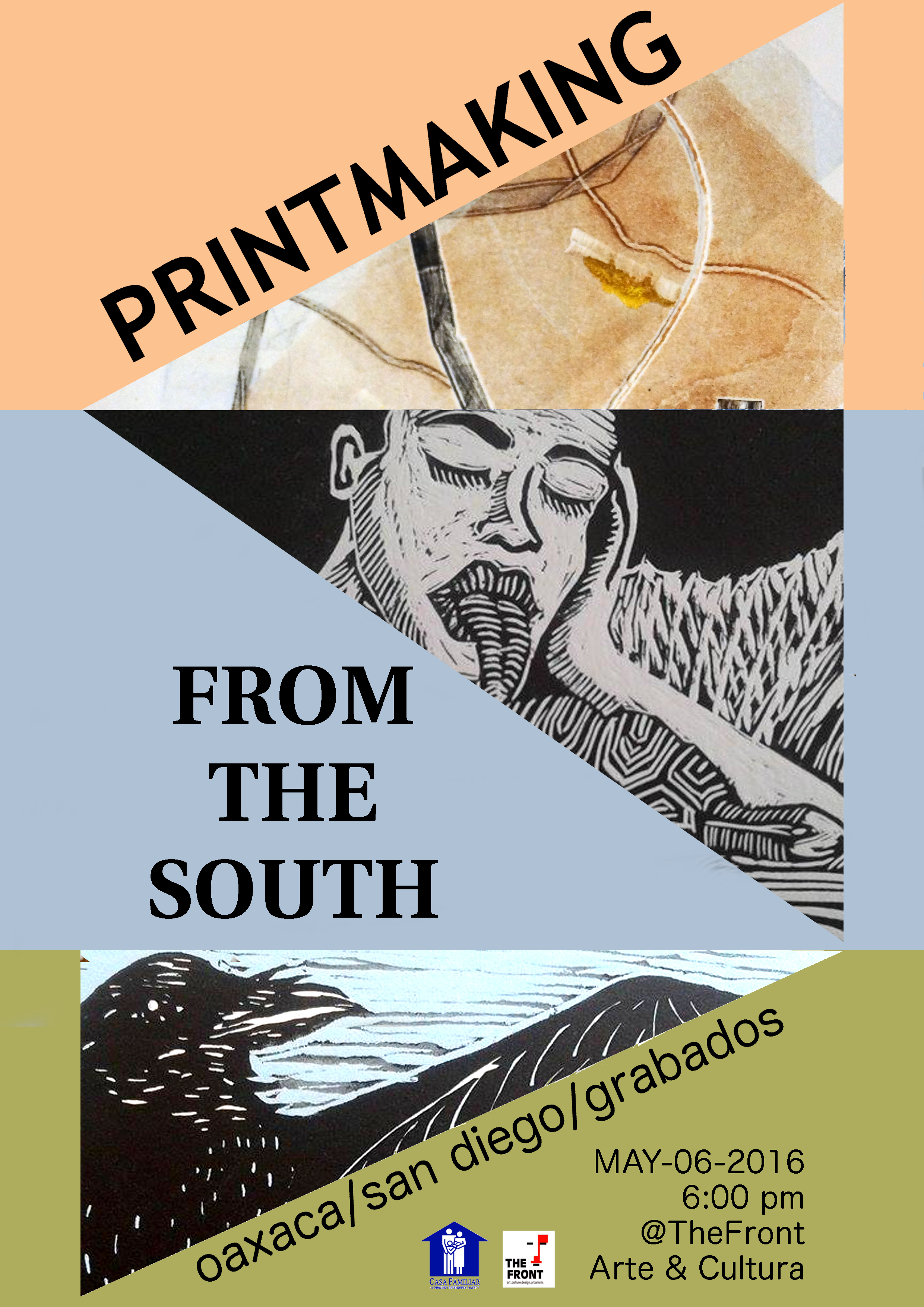 printmaking from the southx poster abril II