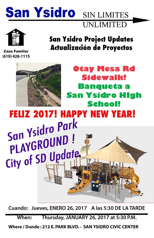 Sin Límites – San Ysidro Project Update