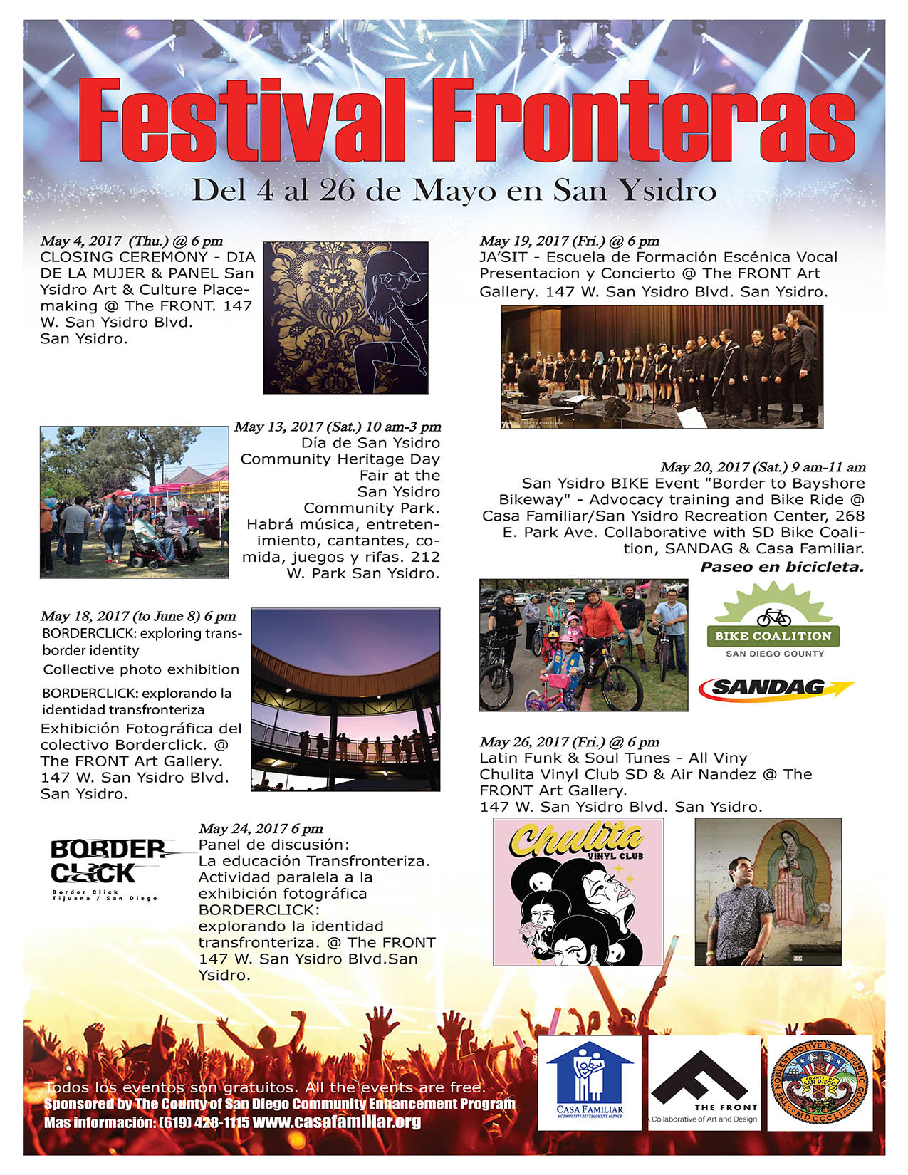 Fronteras Festival is here!