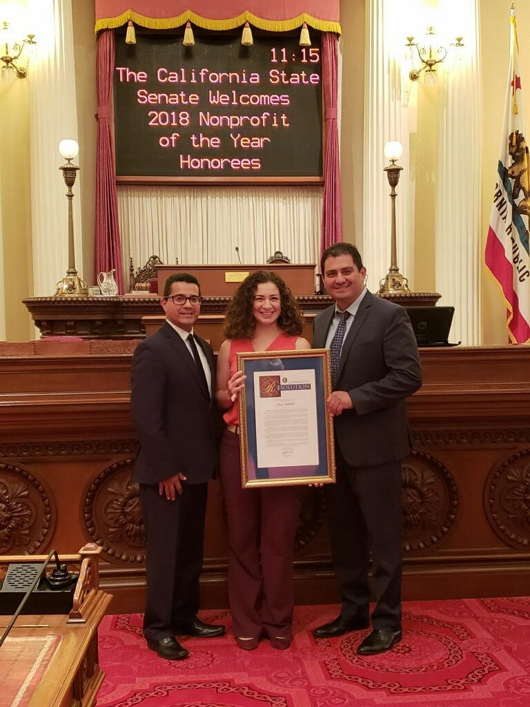 Senator Hueso Recognizes Casa Familiar as 40th District Nonprofit of the Year