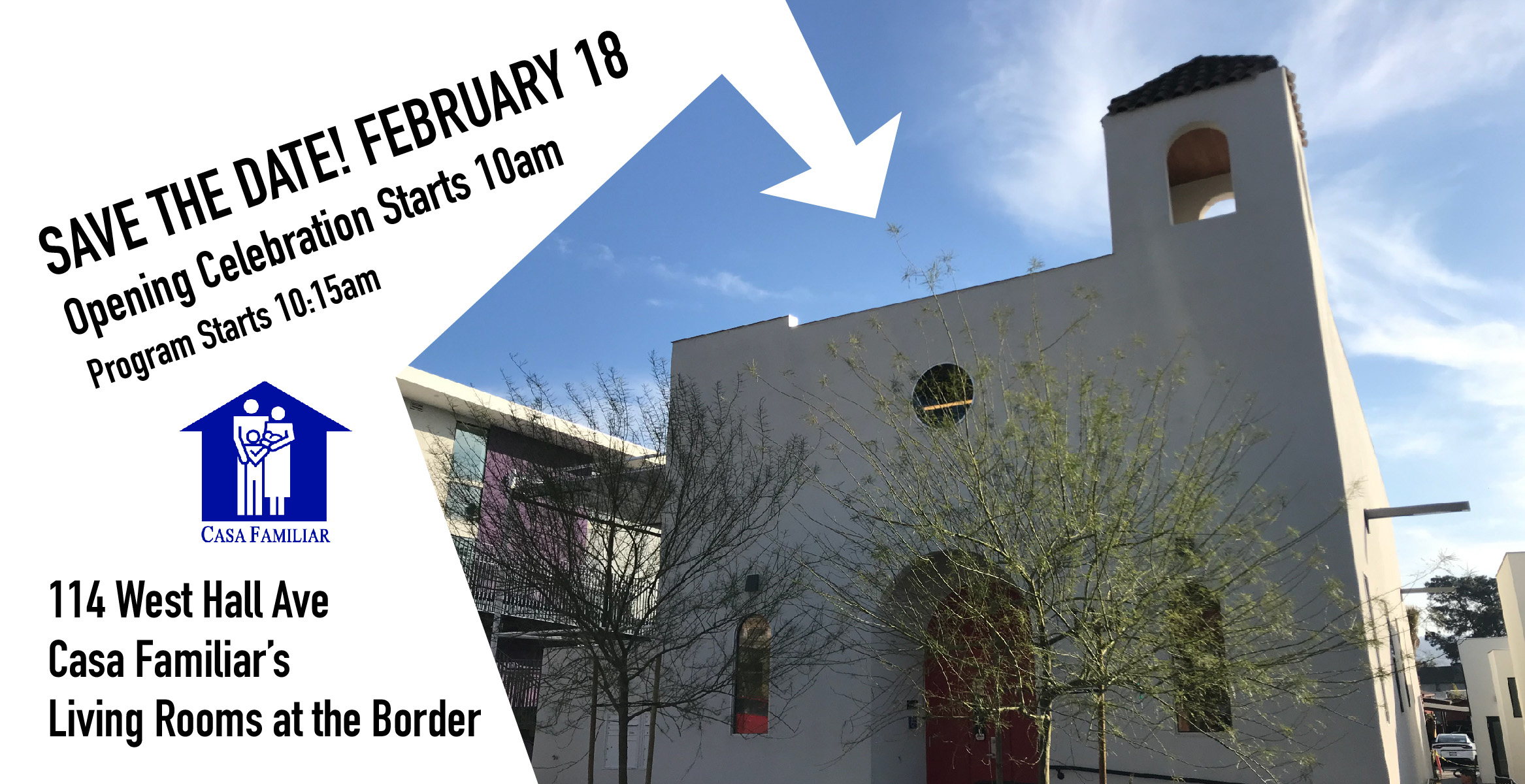 Feb 18, Ribbon Cutting Ceremony: Living Rooms at The Border