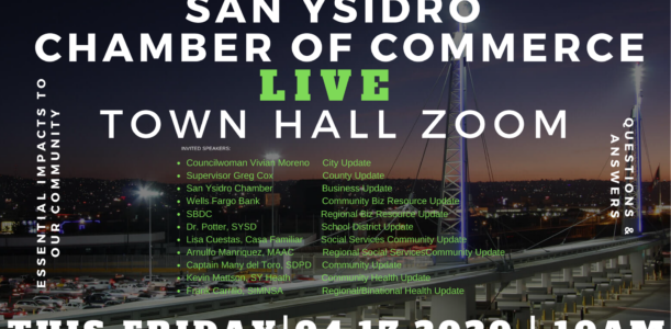 San Ysidro Town Zoom – Friday April 17
