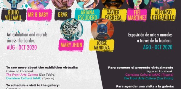 WALLS: Cross Border Urban Art Exhibition