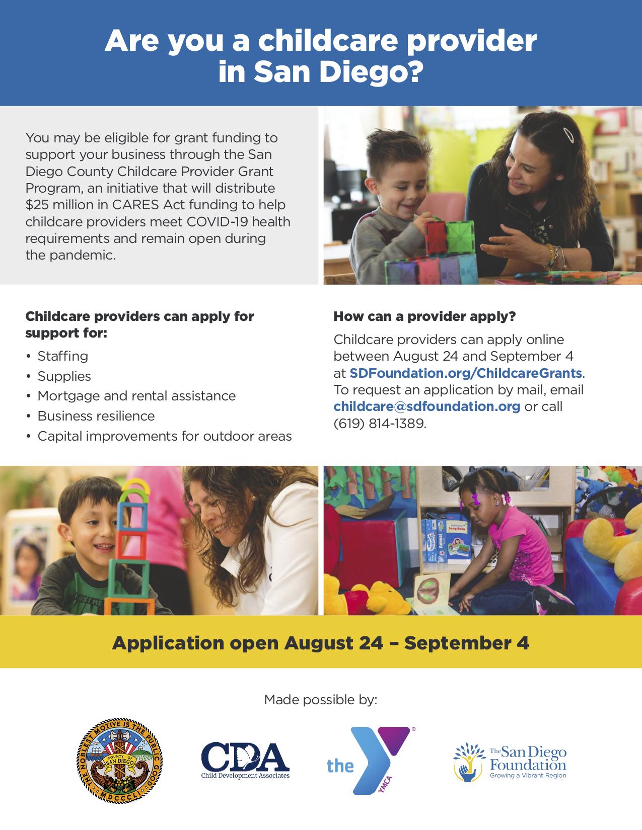 Child Care Provider Opportunity